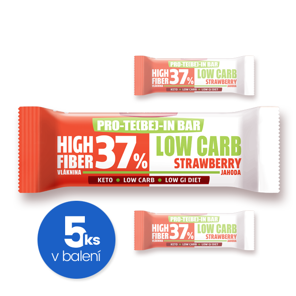 PRO-TE(BE)-IN Low carb jahoda 35 g